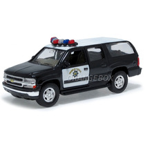Chevrolet Suburban 2001 Highway Patrol Welly 42312-patrol