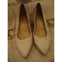 City Shoes Sapato Scarpin Bege Tam. 38