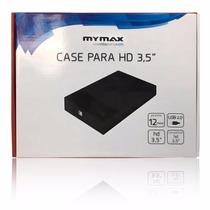 Gaveta Case P/ Hd 3,5  Externa Usb 2.0 Menc-35tu2/bk