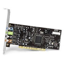Placa De Som Pci Audigy 7.1 Oem Sb0570 Creative