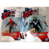 Homem-aranha Ultimate E Duende Verde - Novo Lacrado Hasbro