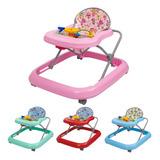 Andador Para Bebê Musical Menino E Menina Tutti Baby Até15kg