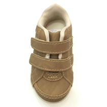 Sapato Infantil Masculino Bebe Com Velcro - Meli - 9895