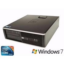 Pc Cpu Intel I5 8gb Hd 500gb + Win 7 + Monitor17 Completo