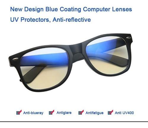 7330194b5 Óculos Para Computador Ant Raios Ant Blue Modelo Quadrado