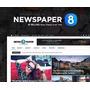 Site Portal De Notícias Blog, Tema Newspaper 8.7.2 Português