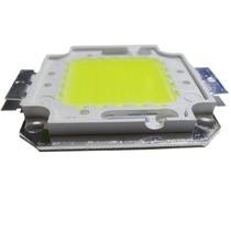 Kit C/10 Chip Led Reparo Peça Reposição Refletor Spot 50w
