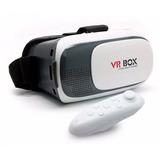 Óculos 3d Vr Virtual Box 2.0 Celular Smartphone + Controle