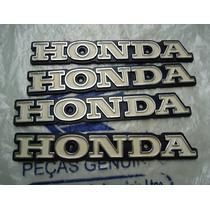 Emblema Do Tanque Honda Cg Bolinha 77 À 82 - Plástico