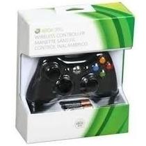 Manete Xbox360 Wireless 100% Original Microsoft Sem Fio