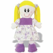 Pelúcia Boneca Carol - Boneca De Pano - Soft Toys