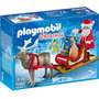 Novo Brinquedo Playmobil Christmas Trenó Do Papai Noel 5590