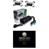 Fonte Xbox 360 Slim Bivolt 110v 220v 135w Ac C/ Cabo Força