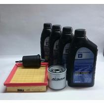 Kit Troca Oleo Gm 5w30+filtro Ar+brinde Corsa Classic Agile.