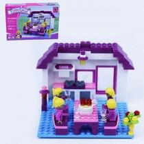Bloco De Montar (148pcs) 22x15cm Fairyland Compt. Lego
