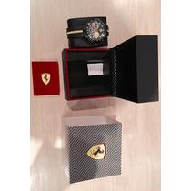 Relógio Ferrari Original Luxo E Esportivo