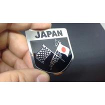 Emblema Automotivo Em Metal Japan Honda Nissan Suziki Subaru