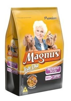Ração Magnus Todo Dia Cães Adulto Pequeno Porte Carne 14 Kg