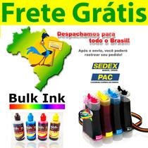 Bulk Ink Hp 2050 + Tinta Alemã + Presilha Especial + Frete!