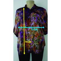 Camisa Tye-dye Gordinha Tamanho Grande Plus Size
