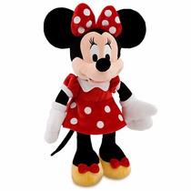 Pelúcia Minnie Vermelha Disney Store 35 Cm Original
