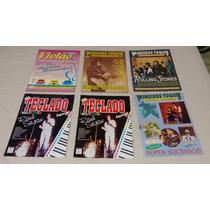 Revistas Antigas P/ Violão E Teclado - Raridades 44 Livros