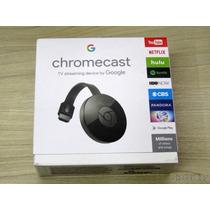 Google Chromecast 2 Chrome Cast 2-crome Hdmi 1080p Original