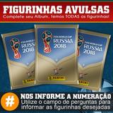 Figurinhas Avulsas Da Copa Do Mundo 2018 Álbum Panini Todas