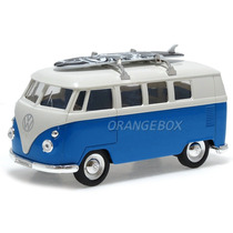 Vw Kombi T1 Bus 1963 1:36 Surf Welly 49764surf-azul