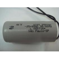 Capacitor 20uf/250v Para Motor De Portão Automático