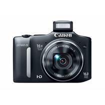 Câmera Digital Canon Sx160 Is 16x Optical Zoom