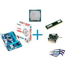 Kit Placa Mãe Intel Core I5 3470 +8gb Ram+cooler!garantia!