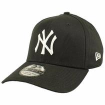 Boné New York Yankees Preto Bow Crown Aba Curva S/m