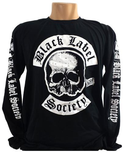 bb9b68d07e Camiseta Black Label Society 001 Manga Longa, Zakk Wylde