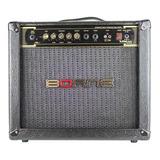 Amplificador Borne Vorax 1050 50w Preto E Dourado 220v/110v (bivolt)