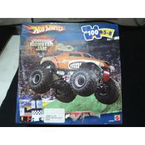 Quebra Cabeça Hot Wheels Monster Jam