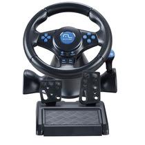 Volante Racer Com Fio 3 Em 1 Para Ps2/ps3/pc - Multilaser