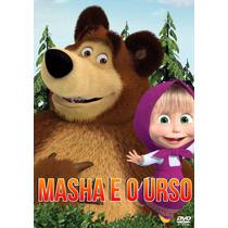 Dvd Masha E O Urso Volumes 1 2 3 4 5 E 6 - 6 Dvds Promoção