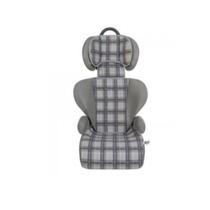 Cadeira Para Carro Xadrez Cinza- Crianças 15 A 36kg