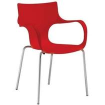 Cadeira Jim Polipropileno Para Cozinha, Area De Espera Sala