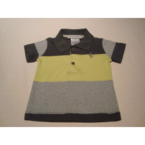 Camisa Polo Bebe Colorida - Clarie Des Anges