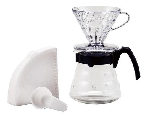 Cafeteira Hario  V60 Vcnd-02 Preta