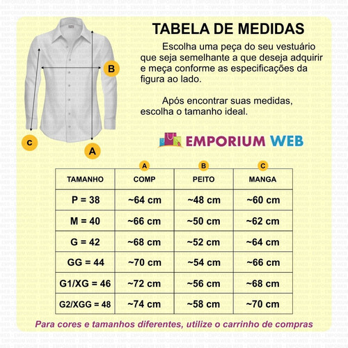 Camisa Jeans Masculina Slim Fit Casual Social Nacional Luxo