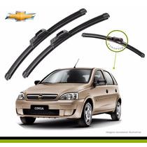 Kit Limpador Para-brisas Corsa Hatch Dianteiros + Traseiro