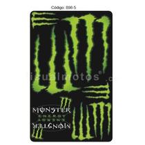 Kit Adesivo Resinado Supersport Monster - Cor Verde