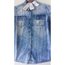 Linda Camisa Jeans Hering, Nova, Excelente Preço!!!