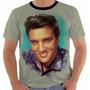 Camisa Camiseta Baby Look Regata Elvis Presley 3
