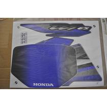 Jogo De Faixa Honda Xlr125 Es 2002 Azul