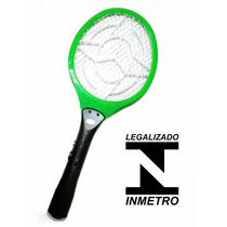 Raquete Mosquito Elétrica Bi-volt Maxbraz Vermelho
