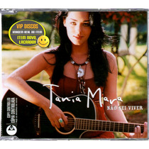 Tania Mara Cd Single Promo Não Sei Viver - Raro